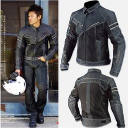 Summer Motorcycle Jacket Xxl Australia - komine mesh breathable racing suit knight off-road jacket outdoor sport jackets motorcycle jackets cycling clothes windproof have protection