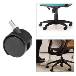 Chair Swivels Australia - 250 Pcs Office Home Chair Caster Wheel Swivel Rubber Wooden Floor Protection 1.5 high quality
