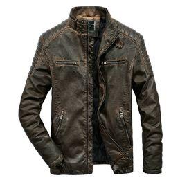 $enCountryForm.capitalKeyWord Australia - New Men Leather Jackets PU Outerwear Men Business Faux Outwear Winter Motorcycle Jacket And Coats Drop Shipping ABZ189