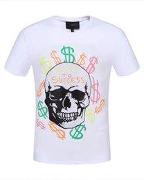 4a4c899bf3 Maglietta del progettista degli uomini 19SS La moda calda comoda respira il  sudore assorbe liberamente magliette alla moda solide di formato in bianco e  ...