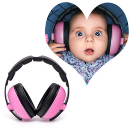 headphones ear pads Canada - Baby Kids Outdoor Wireless Boys Girls Noise Canceling Gift Ear Protection Portable Padded Care Headphone Adjustable Headband