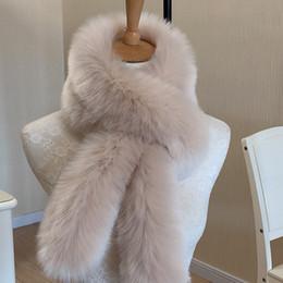 White Faux Fur Shorts Australia - 2017 fashion faux mink fur scarf 7 colors women warm short fur collar scarfs imitation fur wraps neck warmer winter accessories D19011003