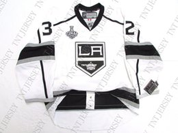 quick cup Australia - Cheap custom Jonathan Quick LOS ANGELES KINGS AWAY 2012 STANLEY CUP JERSEY stitch add any number any name Mens Hockey Jersey XS-5XL