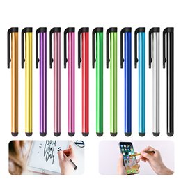 android pens NZ - Capacitive Screen Touch Pen Universal Android Tablet Mobile Phone Stylus for Drawing Writing Click Pen