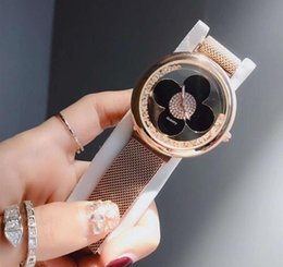 Luxury Christmas Gifts For Women Australia - Luxury Crystal Dial Bracelet Quartz Wrist Watch Christmas Gift for Ladies Women Gold Rose Gold Silver Wholesale Free Shipping