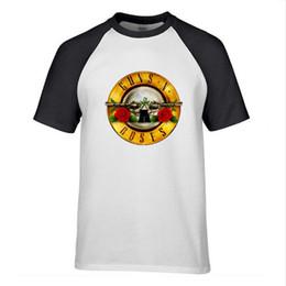 $enCountryForm.capitalKeyWord UK - 2019 Summer New T Shirt Men Guns N Roses Skull Logo Men's fashion Graphic T Shirt High Quality Harajuku Hip Hop Tops Tees