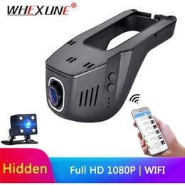 Night visioN hiddeN online shopping - WHEXUNE Hidden Car Dvr Wifi Dash Camera Novatek IMX323 dual lens Camera Mini Video Recorder Wide Angle Night vision
