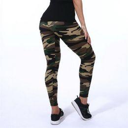 $enCountryForm.capitalKeyWord Australia - New Fashion 2019 Women Camouflage Printing Elasticity Leggings Camouflage Fitness Pant Legins Casual Milk Legging For Women