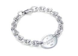 $enCountryForm.capitalKeyWord Australia - High Quality Celebrity design 925 Love Silverware bracelet Women Letter Heart-shaped Bracelets Jewelry With Box