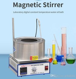 $enCountryForm.capitalKeyWord Australia - Magnetic Stirrer Laboratory Digital Constant Temperature Oil Bath Stirring Instrument Industrial Magnet Lab Stirrer Mixer DF-101S (standard)