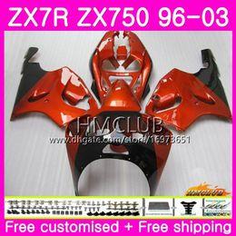 $enCountryForm.capitalKeyWord NZ - ZX-7R For KAWASAKI NINJA ZX750 ZX 750 7R 96 97 98 99 00 01 02 03 46HM.20 ZX7R 1996 1997 1998 1999 2000 2001 2002 2003 Gloss Orange Fairing