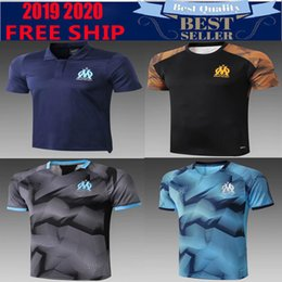 Polo jersey shirt online shopping - Top quality Olympique de Marseille Soccer jersey Maillot De Foot PAYET ANGUISSA GOMIS L GUSTAVO THAUVIN polo shirts