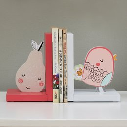 folding book holder Canada - Cute Cartoonend Mini Umbrellas Household Sundries Stand Children Room Book Shelf Book Holder Study Room Decoration