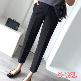 clothing design for women UK - Work Wear Straight Trousers Plus Size Formal Pants for Women Office Lady Style Female Clothing Business Design New Hot Fashion