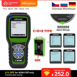 Digiprog Connectors Australia - OBDSTAR X100 PROS Auto Key Programmer for IMMO+Odometer+OBD Software (C+D+E) including EEPROM adapter Better than Digiprog 3