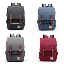 Large Backpacks For Men NZ - 2019 Vintage Men Women Canvas Backpacks Large New Fashion Backpack For Unisex Teenage Girls School Bags Agd Fab Women Bag
