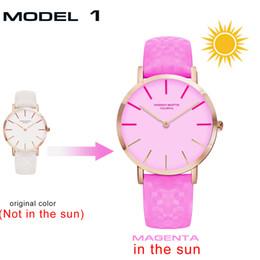 $enCountryForm.capitalKeyWord Canada - Japan Mechanism Sunlight Down Ultraviolet Rays Induction Wrist Watch Belt Waterproof Student Trend Ma'am Discoloration Wrist Watch
