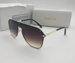 Glasses Sun Protection Australia - medusa Where To Buy Top Brand Designer A LU Men Sunglasses UV Protection Outdoor Sport Vintage Women Sun Glass Retro Eyewear free shipping