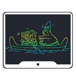 """$enCountryForm.capitalKeyWord Australia - 15 inch LCD Writing Tablet Board Electronic Small Blackboard Paperless Office Writing Board 15"""" Colorful with Stylus Pens"""