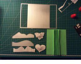$enCountryForm.capitalKeyWord Australia - wholesale Book Frame Border Metal Cutting Dies Stencil DIY Scrapbooking Album Paper Cards Embossing Die Decor Crafts Making