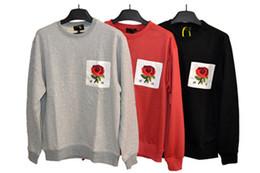 $enCountryForm.capitalKeyWord UK - Mens Women New Rose Pattern Long Sleeve Sweaters Fashion Luxury Men Round Collar Hoodie Sweater Men Flower Printed Top Clothings