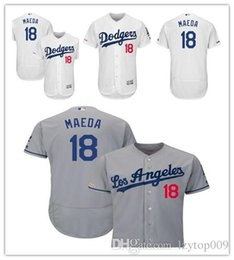 51ebeb54aa1 Dodgers Jerseys Australia - Men s Dodgers 18 Kenta Maeda Majestic White  Home Flex Base Authentic Collection
