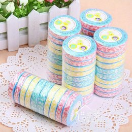 mini compressed towel UK - 10pcs Portable Travel Non-woven Fabric Mini Face Care Magic Hand Towel For Outdoor Sports Tracvel Disposable Compressed Towel