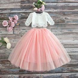$enCountryForm.capitalKeyWord Australia - Little Girls Dresses for Party and Wedding Summer 2019 Kids Dresses Girls Tutu Children's Princess Lace Dress Vestidos