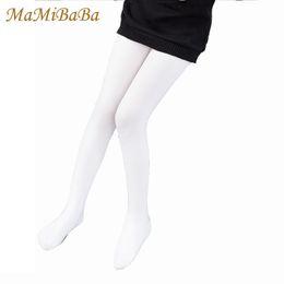 d335eca8da336 Girls Pants Leggings 2019 Spring Summer Solid Trousers Children's Pencil Leggings  Black White Girl Pant Clothing 2-16y Lg032