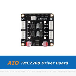 adapter boards Canada - 1pc V1.0 4X TMC2208 Driver Board Adapter Module For All In One AIO II V3.2 MCU 32bit Mainboard 3D Printer Parts