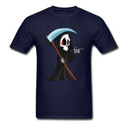 $enCountryForm.capitalKeyWord UK - Love Grim Reaper Tops Tees Men Tshirts Cute T Shirt Halloween T-shirt Funny Cartoon Clothing Custom Skull Printed Sweaters