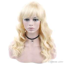 blonde wig full bangs Australia - Full Lace Human Hair Wigs Transparent HD 613 Blonde Color Body Wave Virgin Brazilian Glueless 613 Lacefront Blonde Human Hair Wig With Bangs