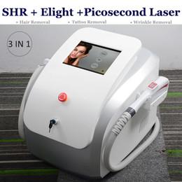 $enCountryForm.capitalKeyWord Australia - 3 IN 1 q-switch Picosure laser remove tattoo picosecond machine pico tattoo washing eyebrow removal SHR IPL nano laser hair removal