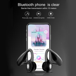 $enCountryForm.capitalKeyWord Australia - 2019 New Coming Best Quality Wireless Earphone Headphone Smart Bone conduction Headset With Stereo for smart phone as gift for Xmas