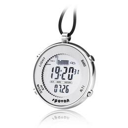 English pockEts online shopping - SPV600 smart fishing watch pressure height temperature measurement M waterproof outdoor fishing pocket watch custom elevation