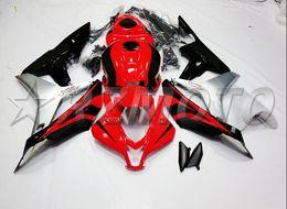 Honda F5 Australia - 3gifts New Injection Mold Motorcycle ABS Full Fairings kit Fit for HONDA CBR600RR F5 2007 2008 07 08 600RR CBR600 cool red black