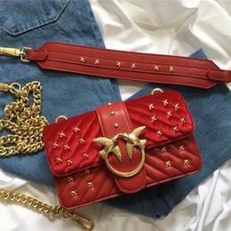 Luxury Chains Australia - designer Genuine Leather handbags PINK luxury famous brand bags quality Velvet Collocation Cowhide Chain crossbody messenger shoulder bag