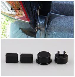 Trucks series online shopping - Four for Dodge Ram for Ford F Series Trucks Tailgate Hinge Pivot Bushing Insert Kit ABS Door Hinge Bushings