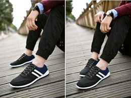 Spring Fall Canvas Shoes Australia - 2019 spring men's canvas shoes Korean version of the low to help wild youth shoes trend breathable lightweight casual men's shoes