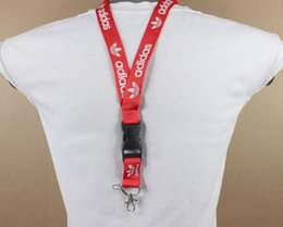 $enCountryForm.capitalKeyWord Australia - 10pcs lot red wine white ADDS clothing brand Neck strap Lanyard for MP3 4 cell phone Keychain camera in stock#6262