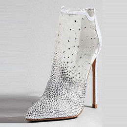 $enCountryForm.capitalKeyWord Australia - Goddess2019 Fine Sandals With Webbing For Zipper Boots Help White Wedding Will Code Women's Shoes
