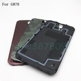 $enCountryForm.capitalKeyWord Australia - 100% Original Battery Back Door Rear Cover For Samsung Galaxy S5 Active G870 Housing Door Battery Back