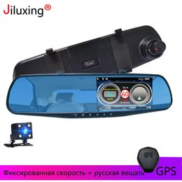 Discount vision dog - Jiluxing H33S Car DVR 1080P Russian warning car cameras mirror Electronic dog speed Vehicle cam Video Recorder Night Vis