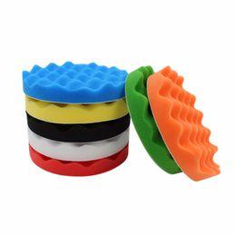 car styling kits 2019 - 10pcs Car Polishing Pads Car-Styling Sponge Polishing Buffing Waxing Pad Kit For Car Polisher Buffer With Drill Adapter