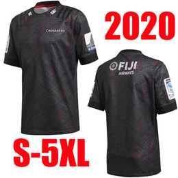 black jersey new zealand NZ - 2020 New Zealand Super Rugby Jerseys Crusaders Training Jersey home jersey League shirt CRUSADERS rugby Jersey s-5xl