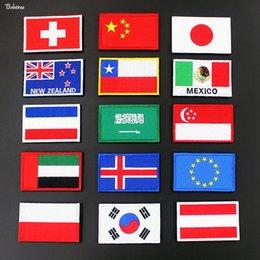 $enCountryForm.capitalKeyWord Australia - New Zealand Poland Switzerland Czech Netherlands Flag Badges Stick on Patch 3D Stickers for Jacket Hat Backpack Decoration