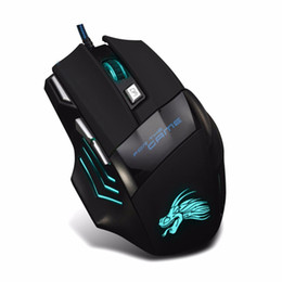 $enCountryForm.capitalKeyWord NZ - Durable Anti-Skid Wheel Gaming Mouse Illuminated Wired Mouse 5500dpi For Computer 7 Desktop PC USB