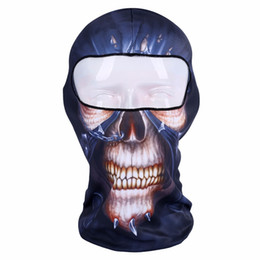 Paintball full face skull mask online shopping - Original Ghost Masks Skull Paintball Costume Outdoor CS Helloween Hunting Bicycling Army Tactical Full Face Mask