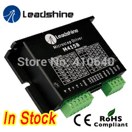 Wholesale reliable parts for sale - Group buy Leadshine M415B Phase Stepper Drive with VDC Voltage and to A Current more reliable quality