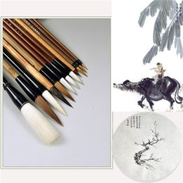 $enCountryForm.capitalKeyWord Australia - Chinese painting brush set brushwork white painting suit calligraphy pen begin
